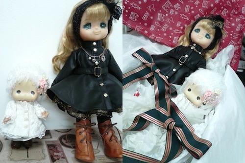 リフォーム完了した人形