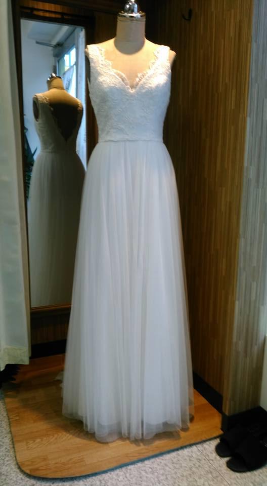 ウェディングドレスのリフォーム