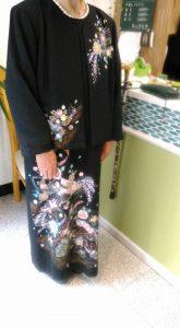 留袖のドレス