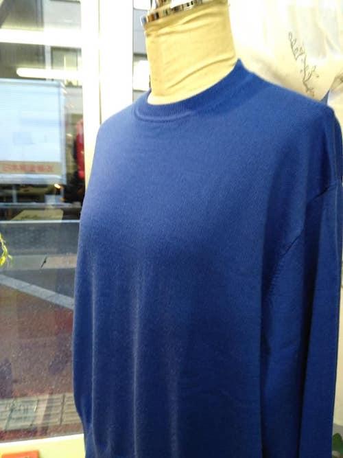 セーターのリフォーム