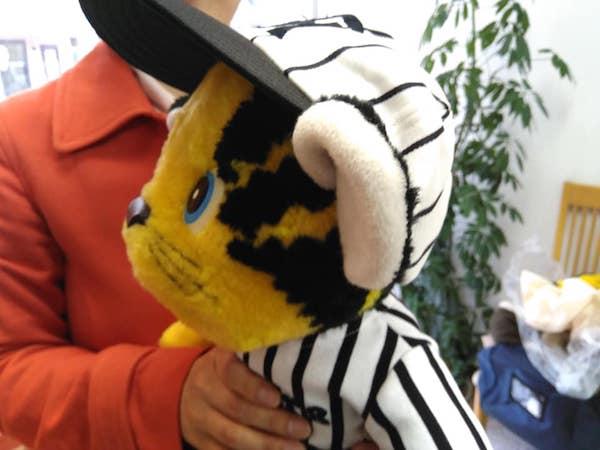 人形の帽子