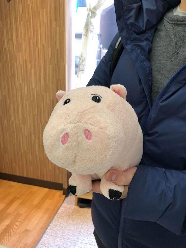 豚さんのお人形