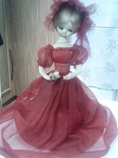 フランス人形のリフォーム