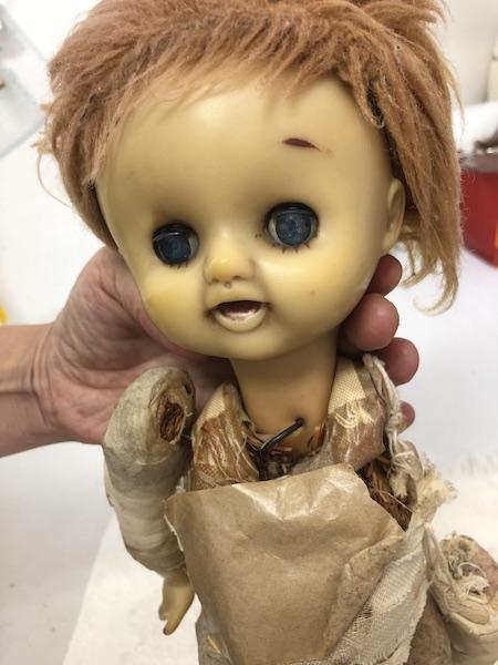 人形リフォーム前