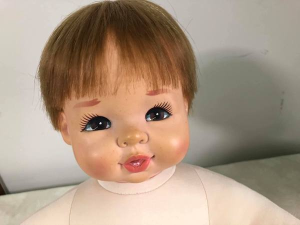 リフォーム後の人形