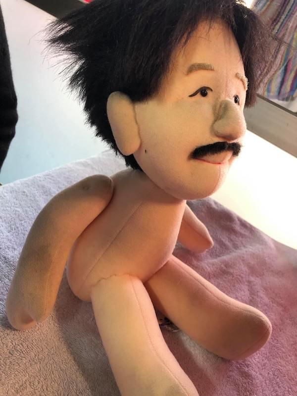 先生のオーダーメイドのお人形