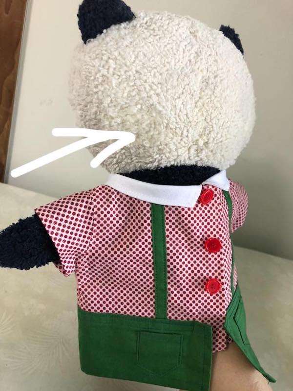 マペット人形の頭部
