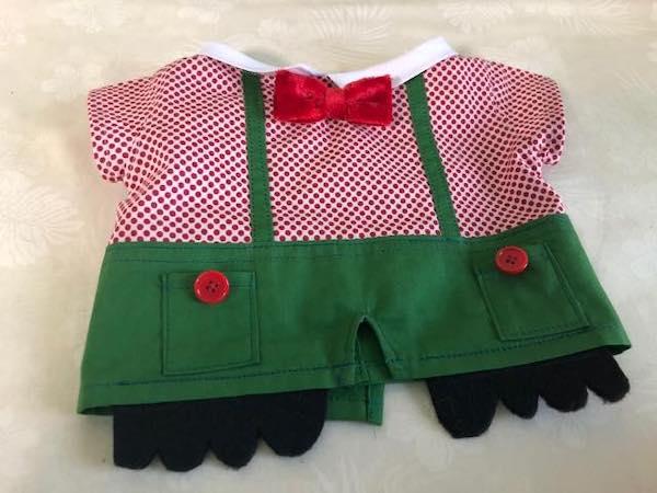 マペット人形の洋服