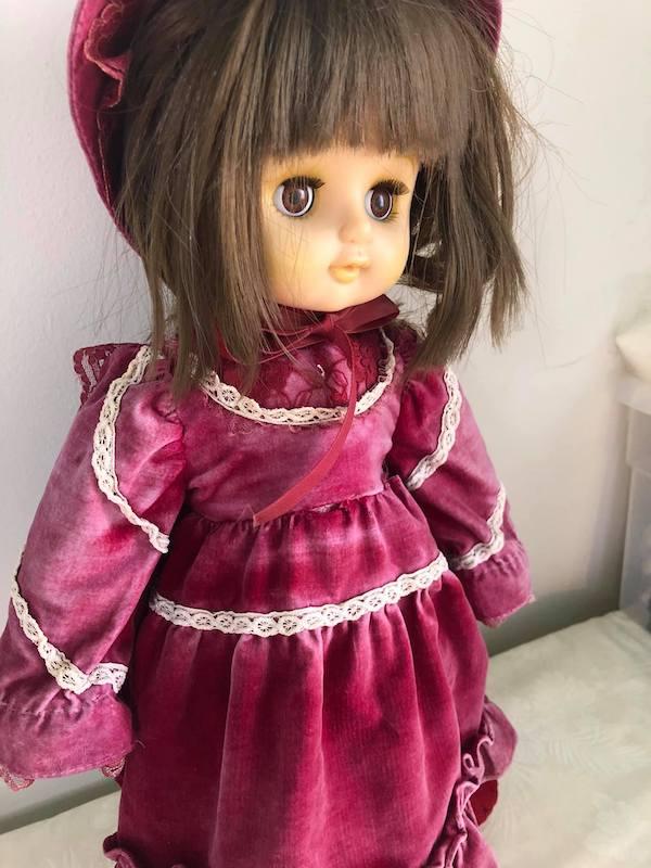 40年も側に居てくれた、お人形