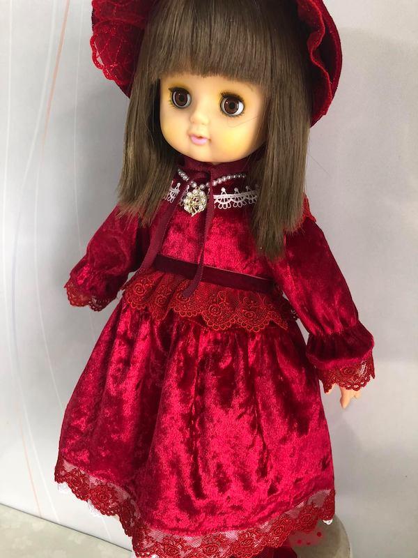 お人形へ ドレス