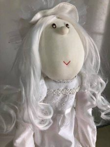 40年前の人形(修理後)