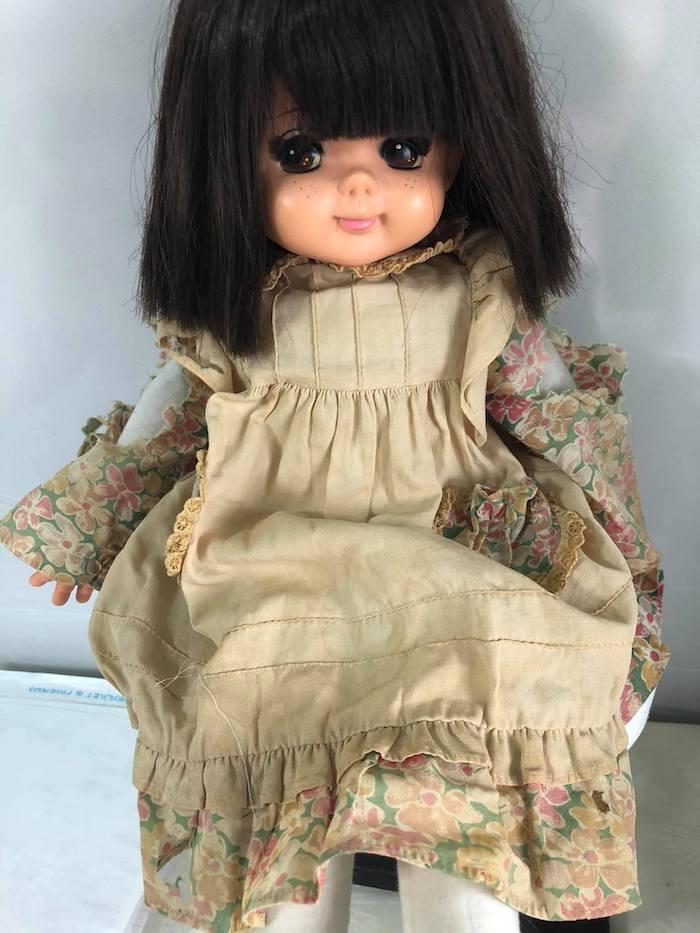 修理前のお人形