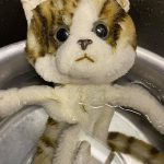 人形の洗浄