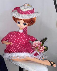 修理後の人形