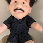 甚平姿の院長人形